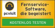 pcvisit Fernservice-Software, die begeistert!
