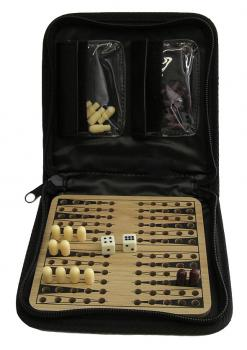 Backgammon im Etui